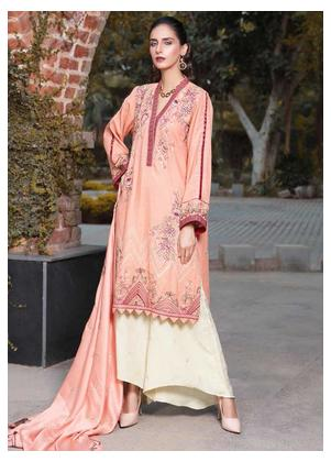AMAL by Motifz Embroidered Karandi Unstitched 3 Piece Suit AMT19LK 2410 Vedant Glory - Winter Collection