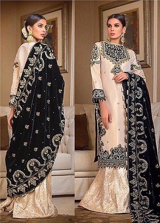 Gul Ahmed Embroidered Missouri Unstitched 3 Piece Suit GA19NC VLW 15 ZARKOON ...