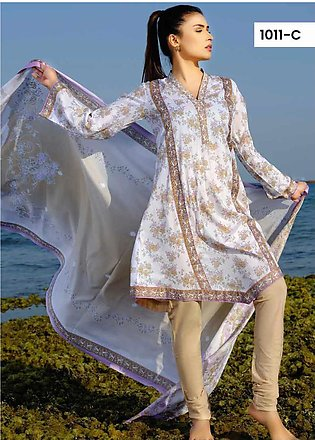 Five Star Printed Lawn Unstitched 3 Piece Suit FS20C 1011C - Spring / Summer ...