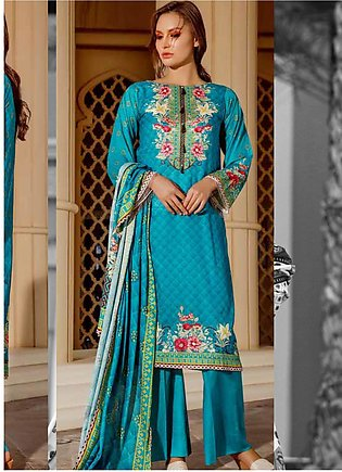 Ittehad Textiles Printed Lawn Unstitched 3 Piece Suit ITD20CS 45B - Summer Co...