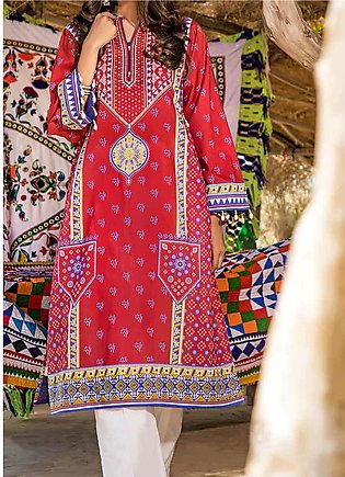 Gul Ahmed Printed Lawn Unstitched Kurties GA20AK SL-875 - Summer Collection