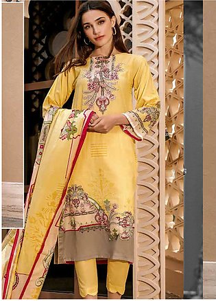 Ittehad Textiles Printed Lawn Unstitched 3 Piece Suit ITD20CS 29A - Summer Co...