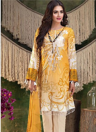 Salitex Embroidered Lawn Unstitched 3 Piece Suit ST19ZL 315A - Summer Collection