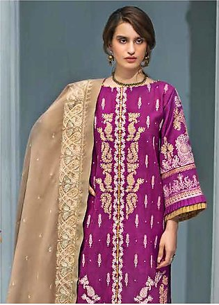 Gul Ahmed Embroidered Khaddar Unstitched 3 Piece Suit GA19PC APE 06 - Winter ...