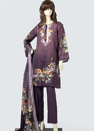 Saya Printed Lawn Unstitched 3 Piece Suit SY19S 1A - Summer Collection