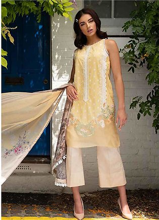Sobia Nazir Embroidered Lawn Unstitched 3 Piece Suit SN20L 2B - Summer Collec...