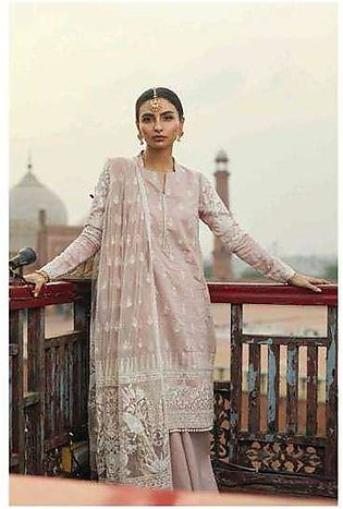 Zara Shahjahan Embroidered Lawn Unstitched 3 Piece Suit ZS17E2 Mehek