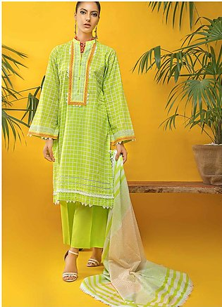 Gul Ahmed Embroidered Cambric Unstitched 3 Piece Suit GA20CM CBE-120 - Summer C…