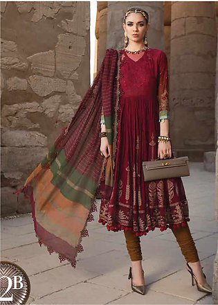 Maria B Embroidered Lawn Unstitched 3 Piece Suit MB20SV 2012 B - Spring / Sum...