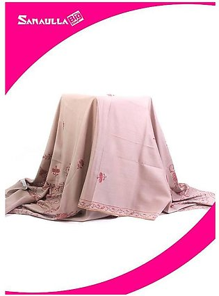 Fawn Embroidered Pashmina Shawls for ladies - SW 256