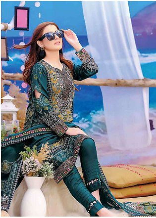 Five Star Printed Lawn Unstitched 3 Piece Suit FS19L 1222A - Spring / Summer ...