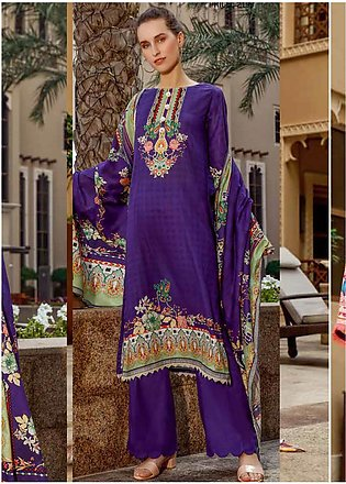 Ittehad Textiles Printed Lawn Unstitched 3 Piece Suit ITD20CS 49B - Summer Co...