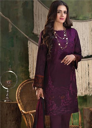 Salitex Embroidered Lawn Unstitched 3 Piece Suit ST19ZL 313B - Summer Collection