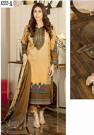 Five Star Printed Lawn Unstitched 3 Piece Suit FS20CL 1222A - Spring / Summer C…