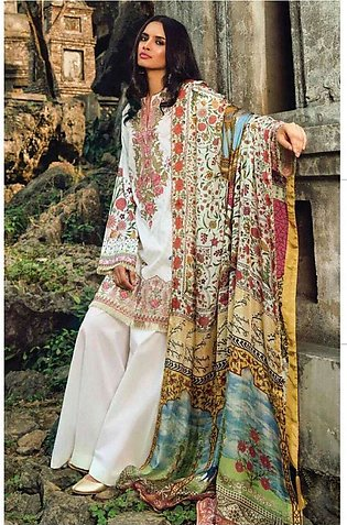 Zara Shahjahan Embroidered Lawn Unstitched 3 Piece Suit ZS17l Jahangir Nama