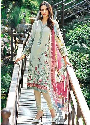 Gul Ahmed Embroidered Jacquard Unstitched 3 Piece Suit GA20PL SSM-20 - Spring /…