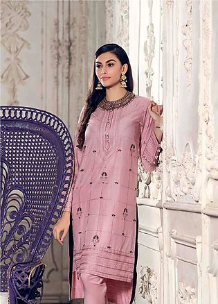 Gul Ahmed Embroidered Lawn Unstitched Kurties GA19E FE-165 - Eid Collection