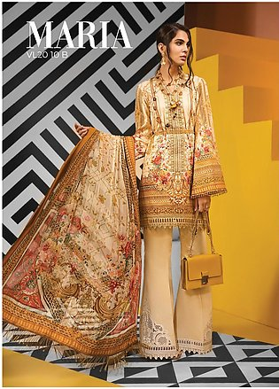 Viva by Anaya Embroidered Lawn Unstitched 3 Piece Suit V20AKC 10 B MARIA - Su...