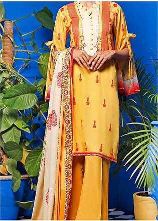 Gul Ahmed Printed Lawn Unstitched 2 Piece Suit GA20SE 11 TLP-11-A - Spring / Su…