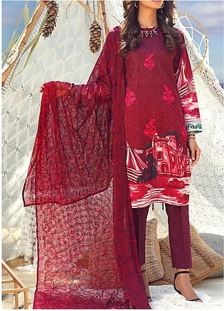 Salitex Embroidered Lawn Unstitched 3 Piece Suit ST20FL 503 A - Spring / Summ...
