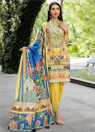 Umang by Motifz Embroidered Lawn Unstitched 3 Piece Suit UMT20L 2553 Vegas - Su…
