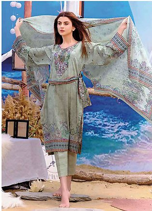 Five Star Printed Lawn Unstitched 3 Piece Suit FS19L 1223B - Spring / Summer ...