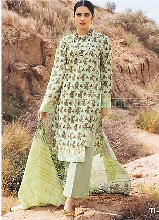 Gul Ahmed Embroidered Lawn Unstitched 2 Piece Suit GA20SBL TL 252B - Summer Col…