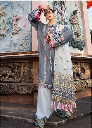 Crimson Embroidered Lawn Unstitched 3 Piece Suit CRM19L 8A - Spring / Summer ...