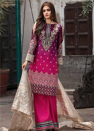 Rang e Bahar by Motifz Embroidered Net Unstitched 3 Piece Suit RB20MT 02354 -...