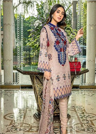 Zara Ali by Magns Textiles Embroidered Viscose Unstitched 3 Piece Suit ZRA19V...