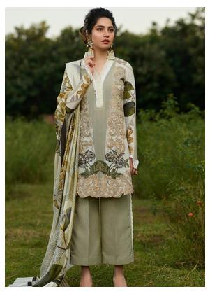 Asifa & Nabeel Embroidered Karandi Unstitched 3 Piece Suit AN19W 3F PAHELI - Winter Collection