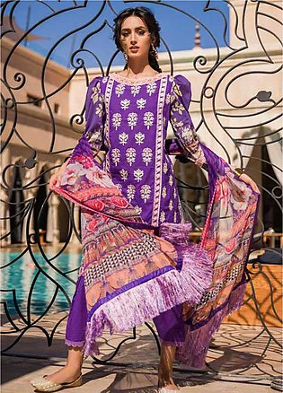 Sobia Nazir Embroidered Lawn Unstitched 3 Piece Suit SN20V 5B - Summer Collec...