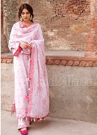 Gul Ahmed Embroidered Jacquard Unstitched 3 Piece Suit GA20TJ MJ-41 - Spring / …