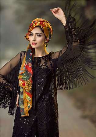 Asifa & Nabeel Embroidered Organza Unstitched 3 Piece Suit AN17C 03