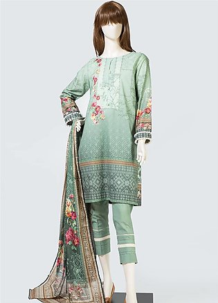 Saya Printed Lawn Unstitched 3 Piece Suit SY19S 5C - Summer Collection