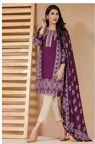 Zeen By Cambridge Embroidered Linen Unstitched 3 Piece Suit ED17W 377010