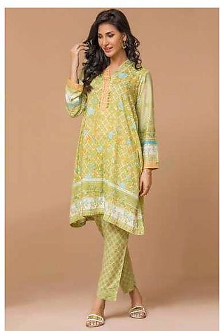 Zeen By Cambridge Embroidered Linen Unstitched 2 Piece Suit ED17W 277002