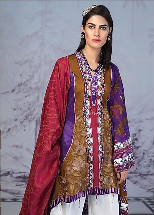 Salitex Embroidered Lawn Unstitched 3 Piece Suit ST19PL 309B - Mid Summer Col...