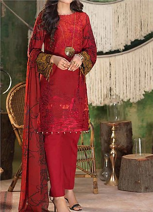 Salitex Embroidered Lawn Unstitched 3 Piece Suit ST19ZL 313A - Summer Collection