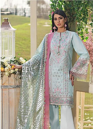 Firaaq by Anaya Embroidered Lawn Unstitched 3 Piece Suit F20AKC 05 Nisa - Lux...