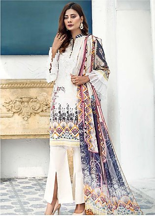 Sanoor by Noor Fatima Embroidered Lawn Suits Unstitched 3 Piece SN21SS D-268 - …