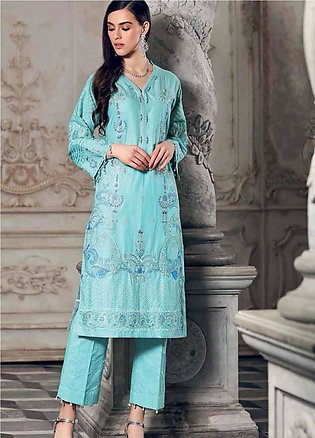 Gul Ahmed Embroidered Lawn Unstitched Kurties GA19E FE-167 - Eid Collection