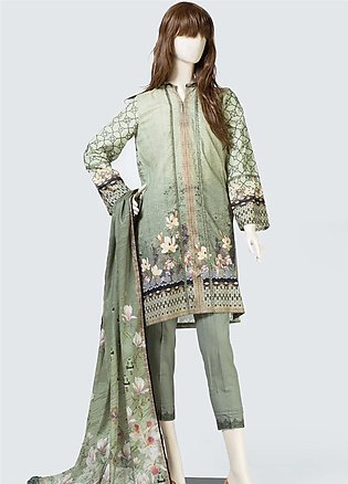 Saya Printed Lawn Unstitched 3 Piece Suit SY19S 6B - Summer Collection