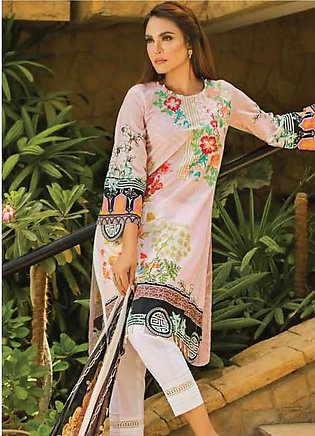 Nadia Hussain Embroidered Lawn Unstitched 3 Piece Suit NH19L 02 - Spring / Su...
