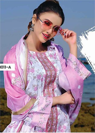 Five Star Printed Lawn Unstitched 3 Piece Suit FS20C 1011A - Spring / Summer Co…