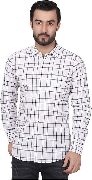 Furor Casual Shirts for Men - White FRM18CS 31120