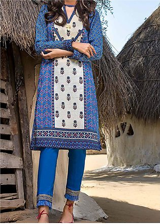 Gul Ahmed Printed Lawn Unstitched Kurties GA20AK SL-876 - Summer Collection
