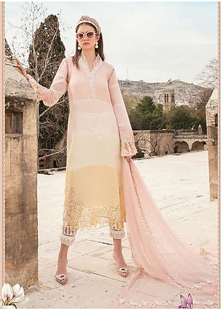 Maria B Embroidered Woven Yarn Suits Unstitched 3 Piece MB21L 12-A - Summer Col…