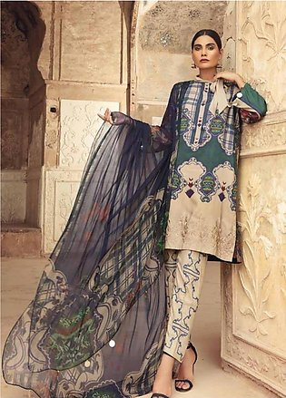 Sheen by Charizma Embroidered Viscose Unstitched 3 Piece Suit SHN19V 12 - Win...