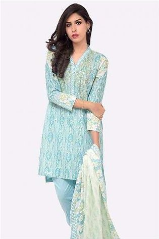 Zeen By Cambridge Embroidered Linen Unstitched 3 Piece Suit ED17W 377015